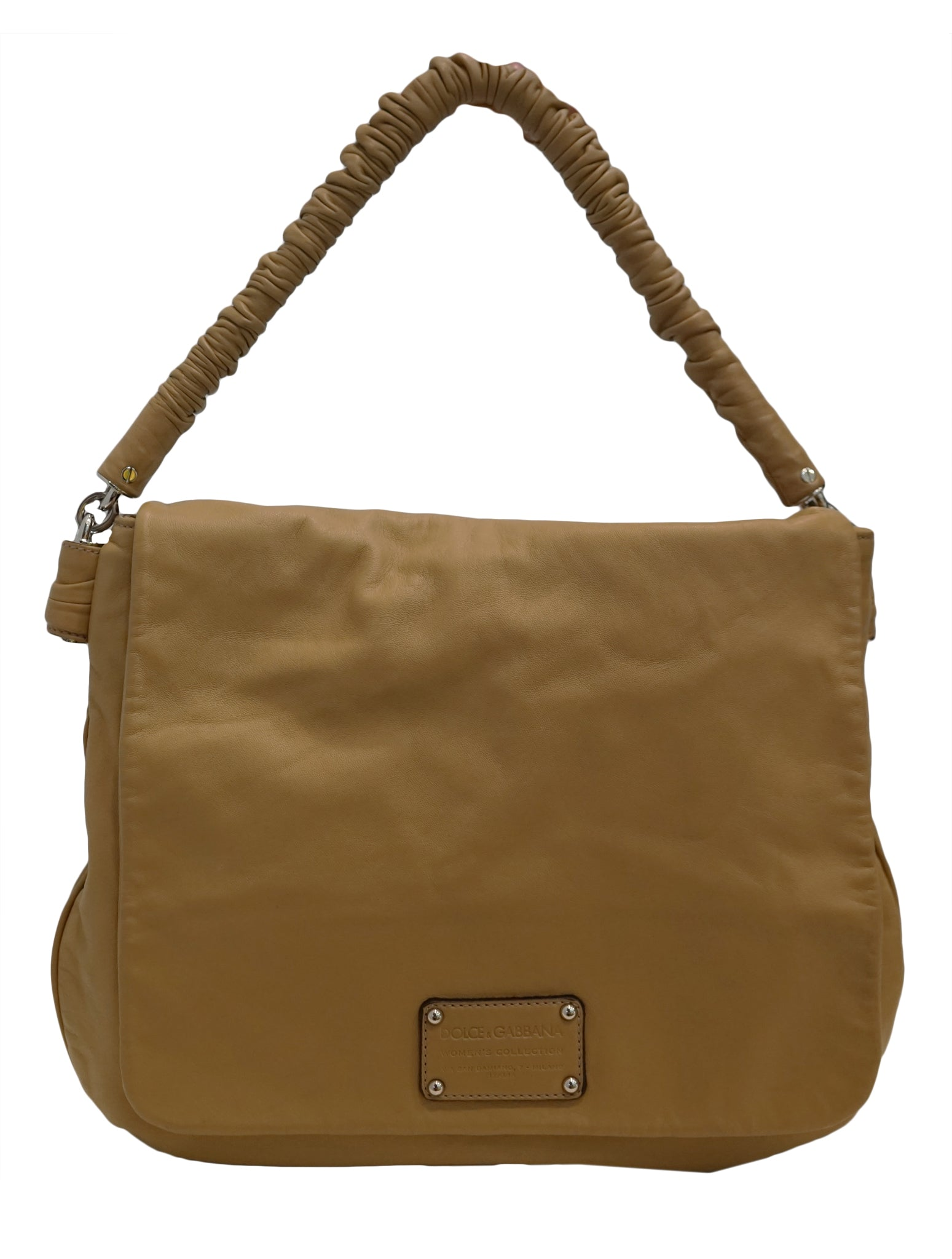LEATHER MISS LEXINGTON SHOULDER BAG