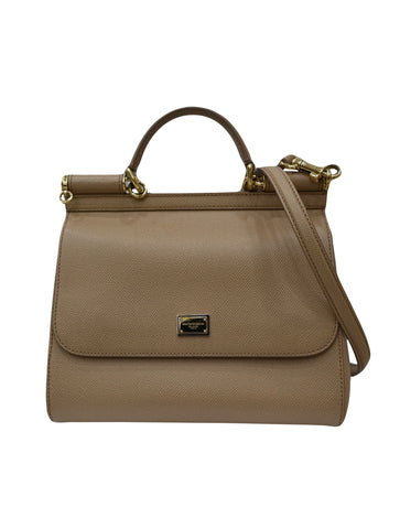 BEIGE MISS SICILY SHOULDER BAG