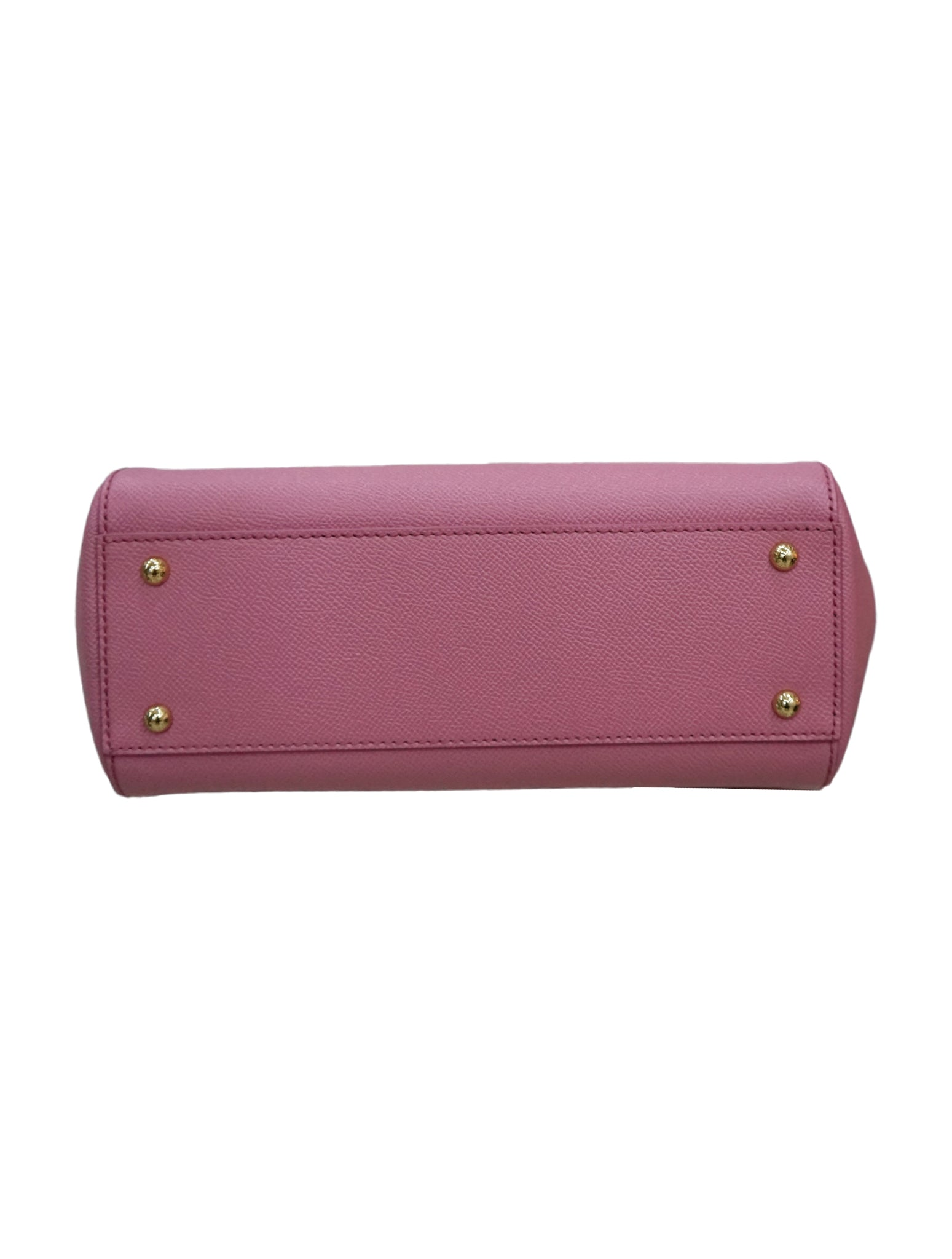 PINK DAUPHINE LEATHER MISS SICILY BAG