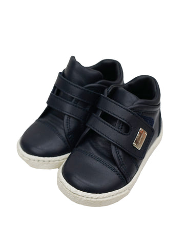 BABY BOY NAVY TRAINERS SHOES