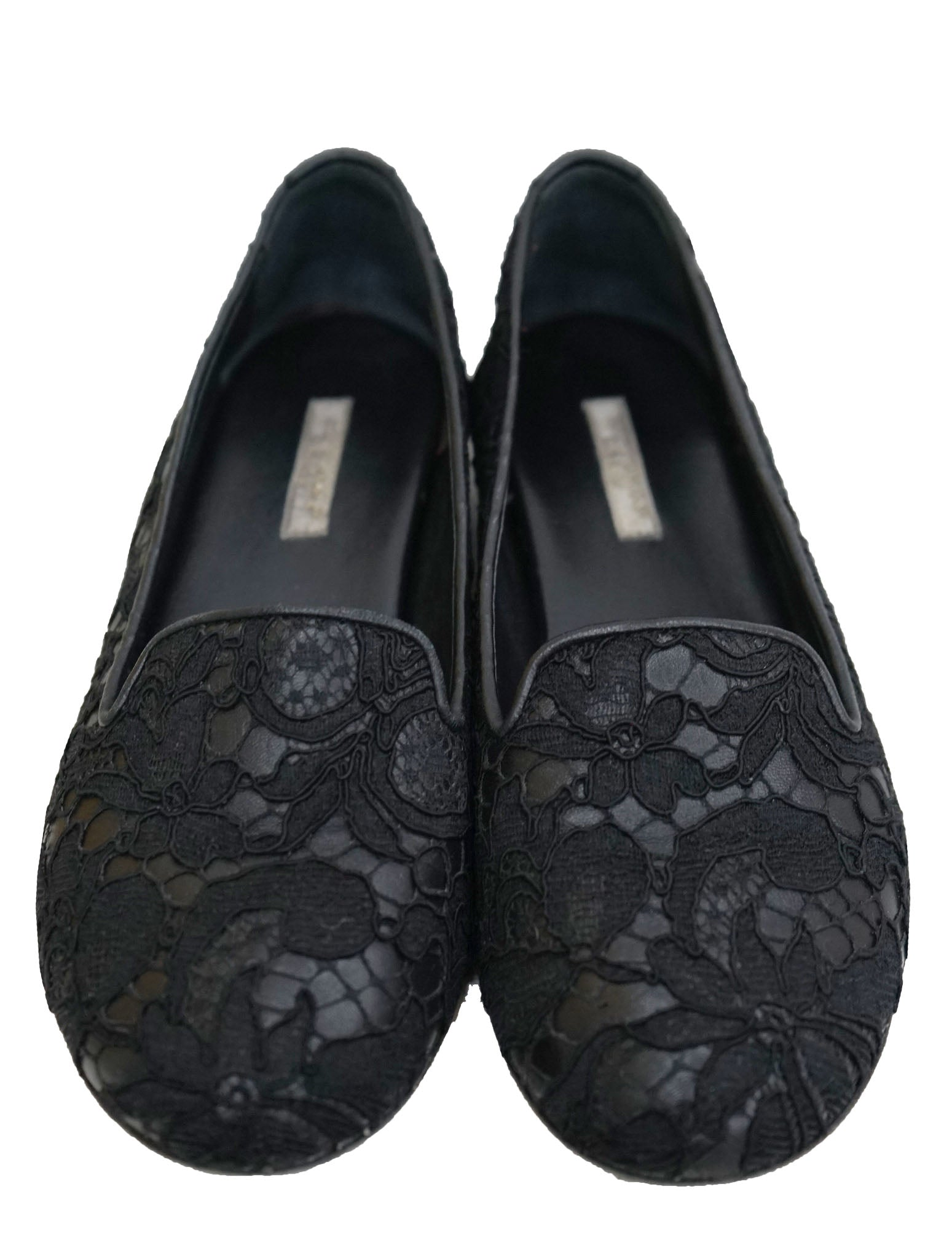 EMBROIDERED LACE FLAT
