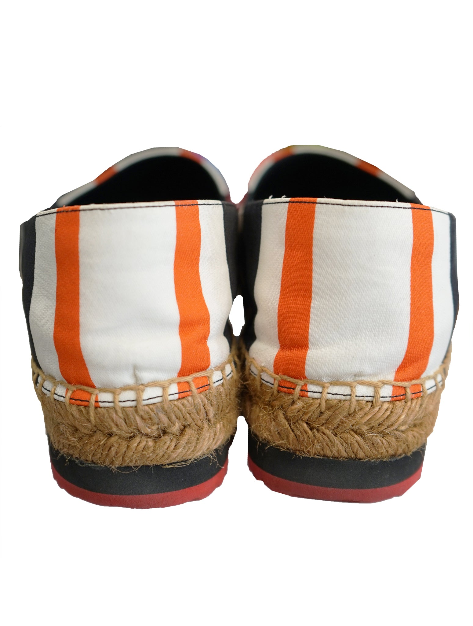 STRIPED CANVAS ESPADRILLE SHOES