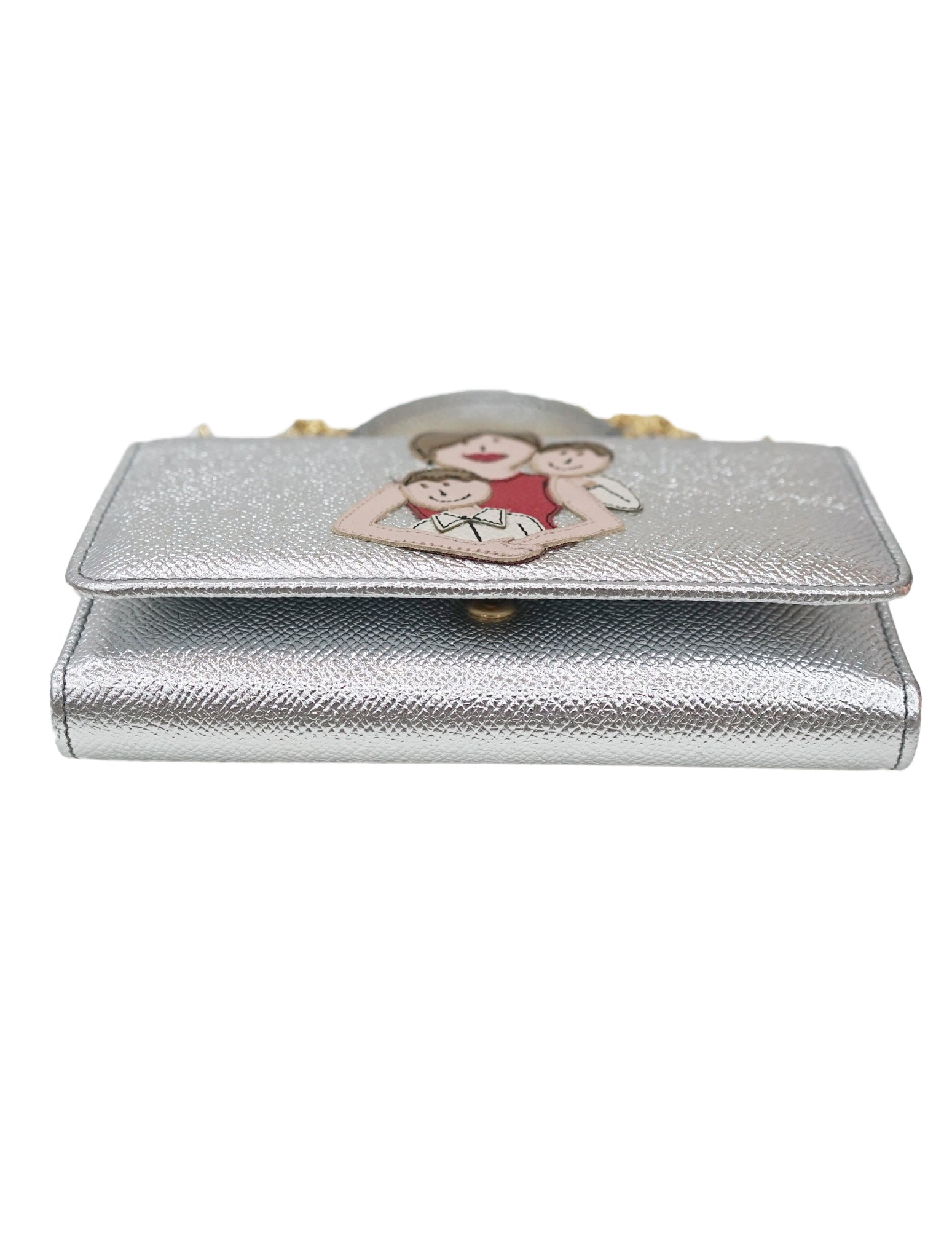 SILVER VON WALLET CROSSBODY BAG