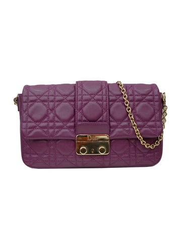 CANNAGE QUILTED PROMENADE POUCH CLUTCH BAG