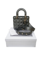 CANNAGE CALFSKIN LADY DIOR BAG