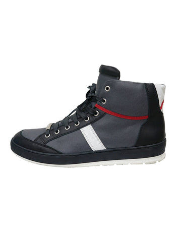 MEN'S TWO TONE HIGH TOP SNEAKERS