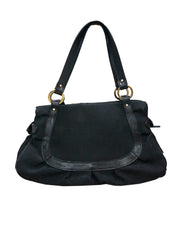 ZUCCA BLACK CHEF 2 HOBO BAG