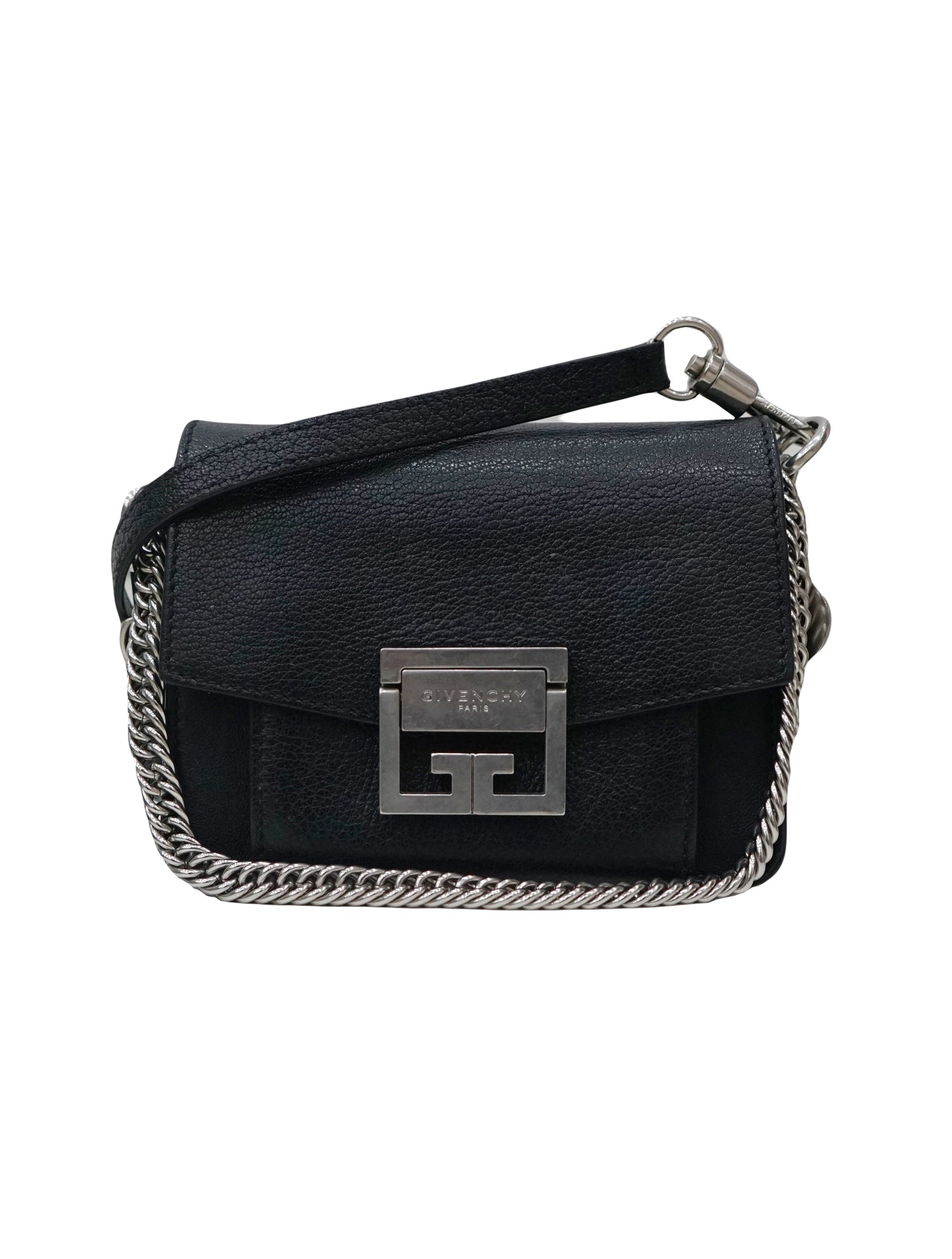GV3 SOFT GRAINED LEATHER CROSSBODY BAG
