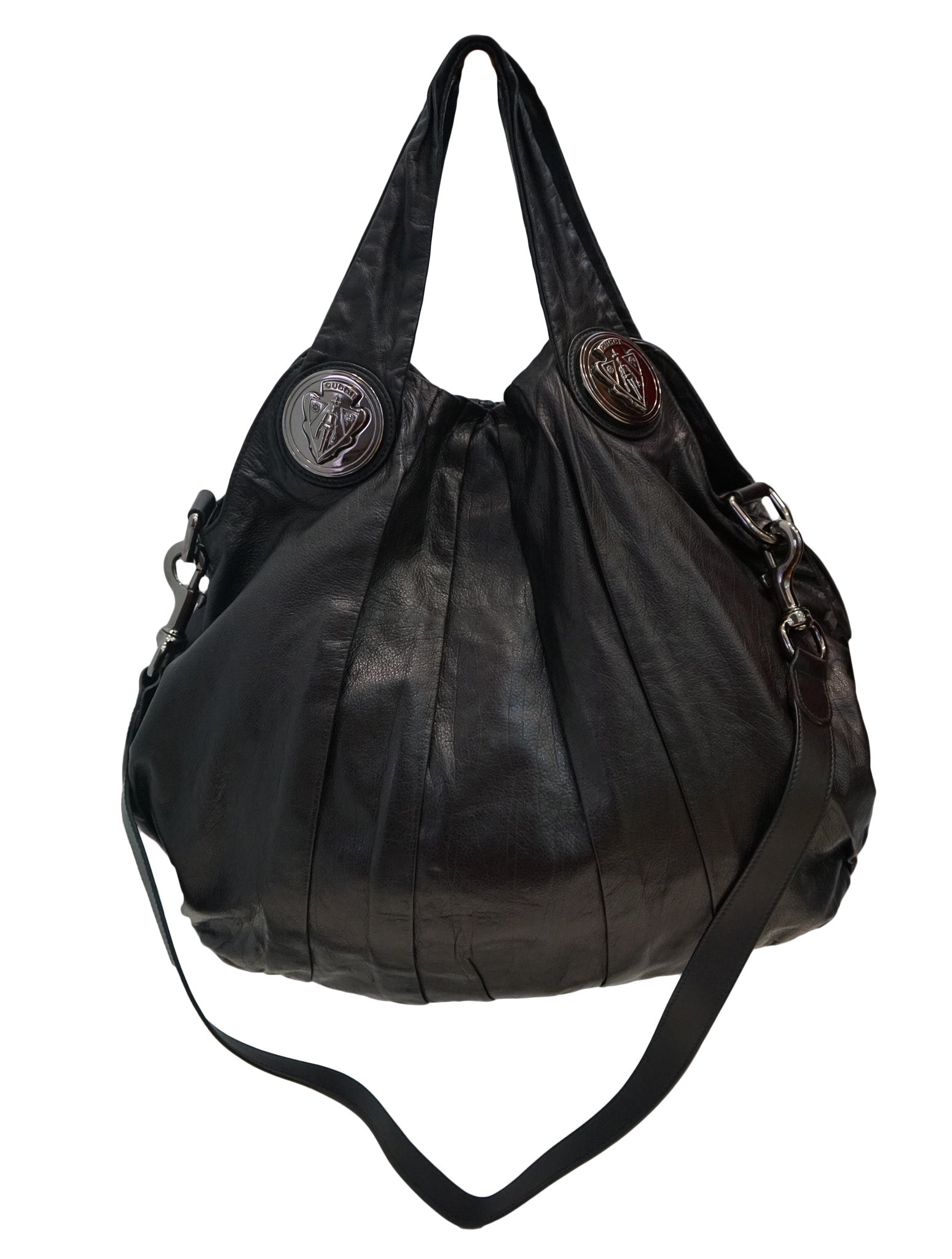 LEATHER LARGE HYSTERIA HOBO