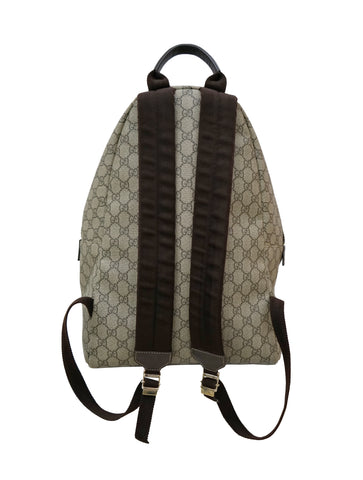 GG SUPREME COATED CANVAS BACKPACK