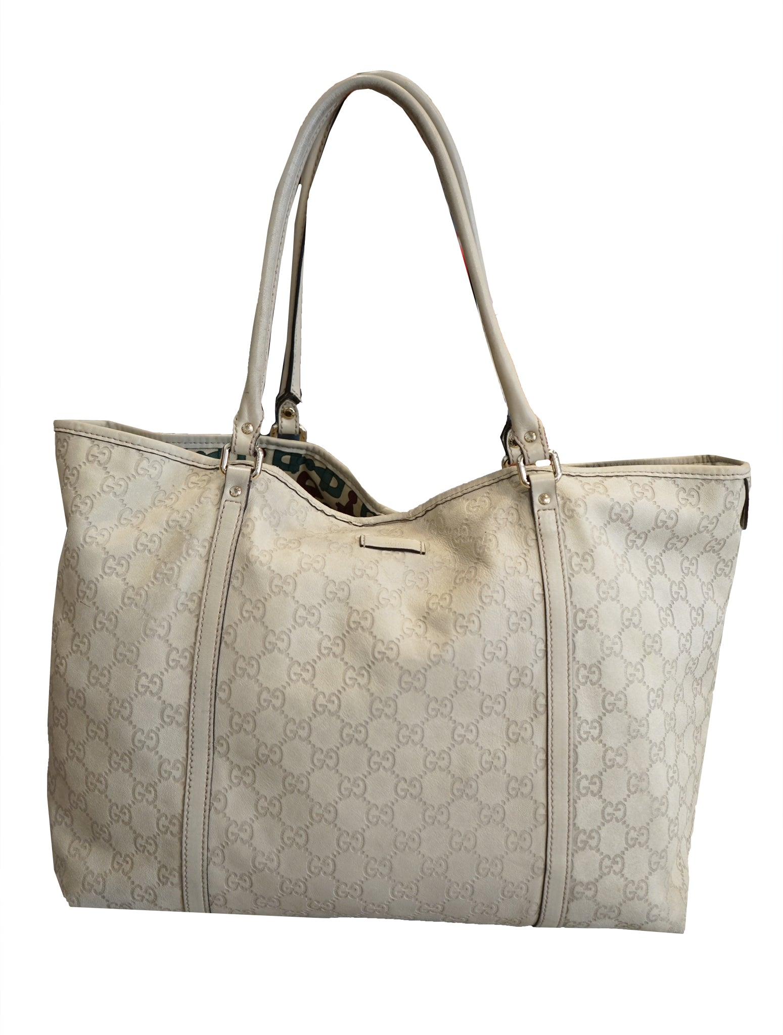 GUCCISSIMA LEATHER TOTE BAG