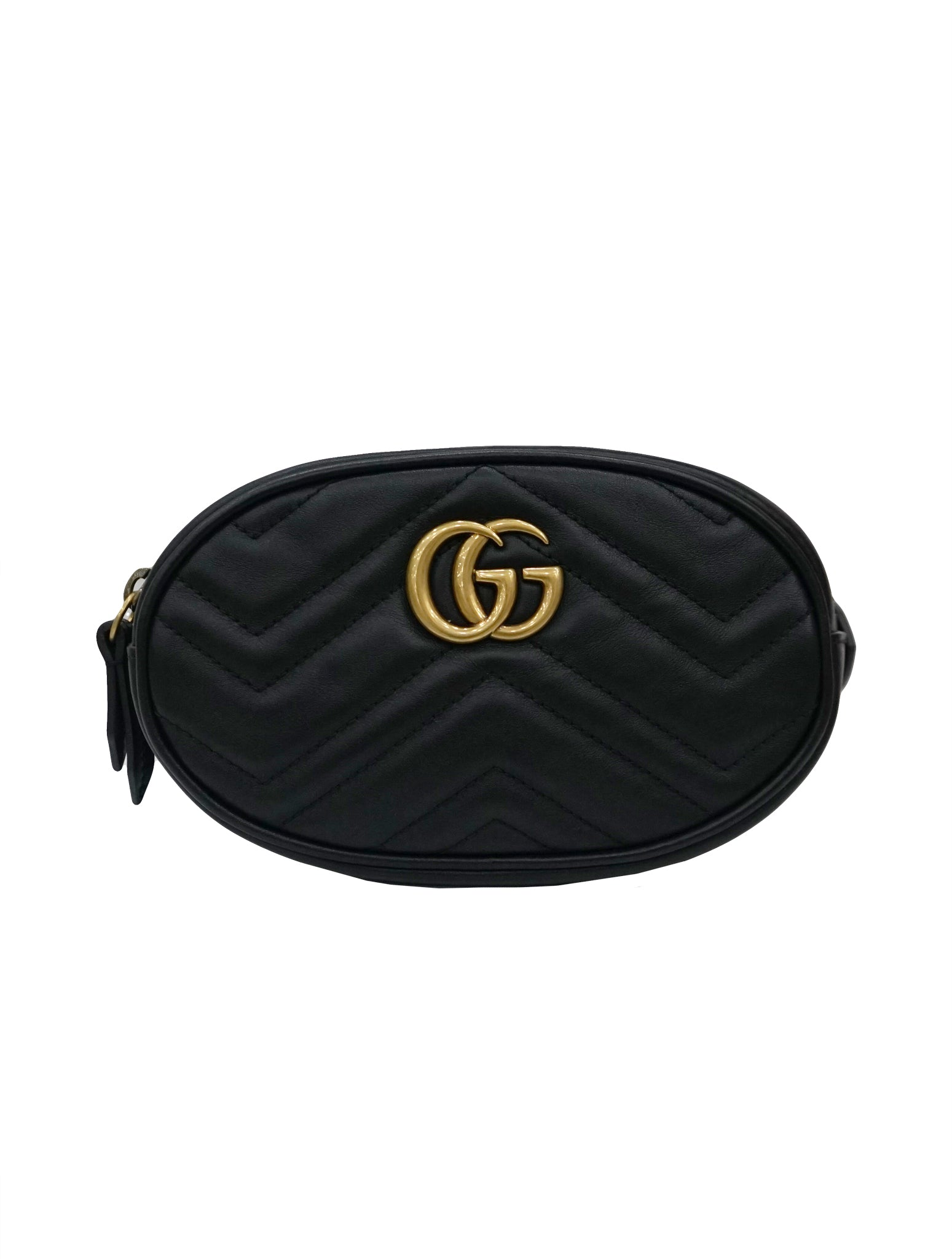 GG MARMONT QUILTED LEATHER BELT BAG