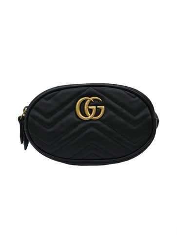 68a9adea669 GG MARMONT QUILTED LEATHER BELT BAG