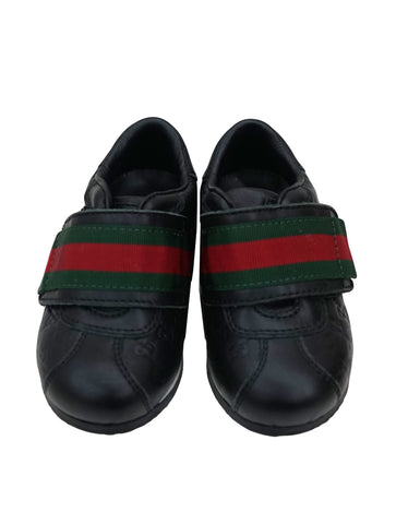 GUCCISSIMA VELCRO WEB DETAIL SHOES