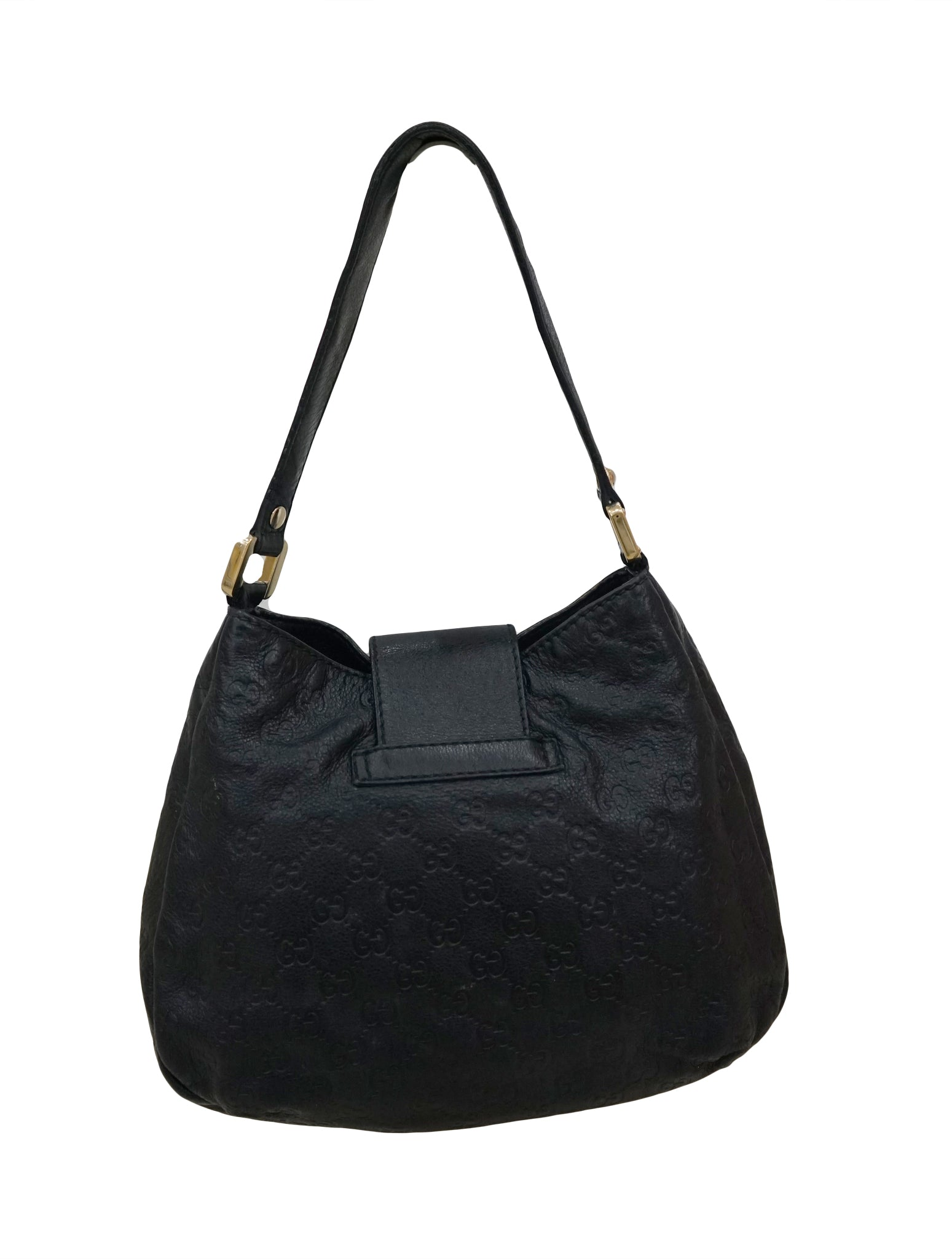 GUCCISSIMA LEATHER VINTAGE WEB HOBO