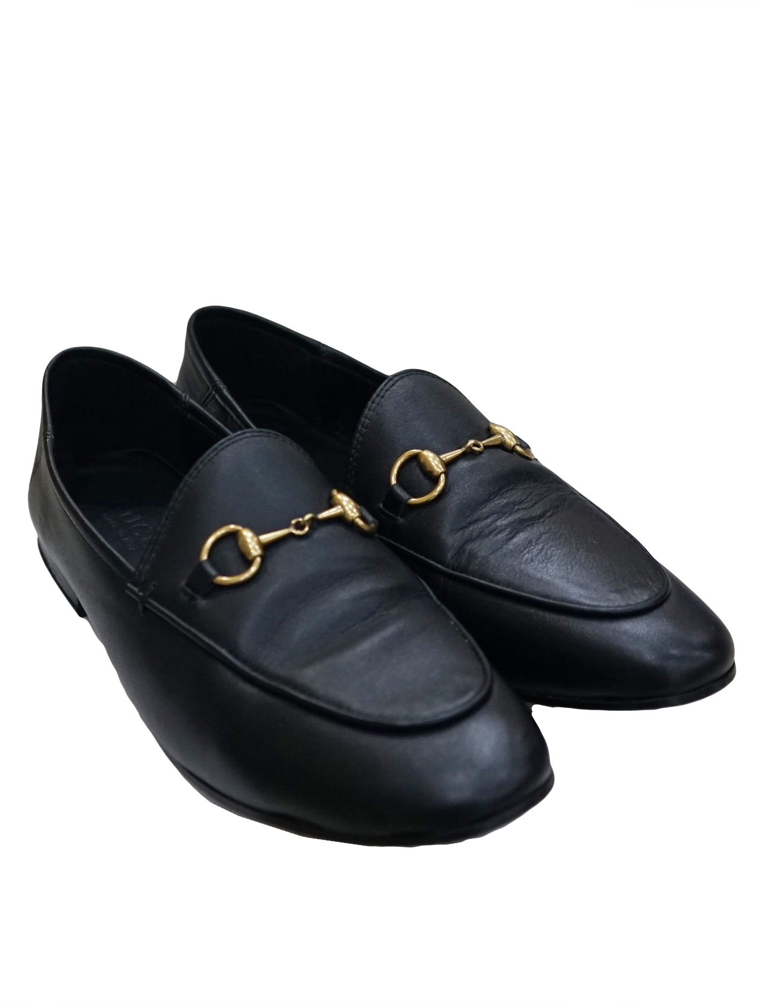 3cc9651063f GUCCI JORDAAN LEATHER HORSEBIT LOAFERS – Kidsstyleforless