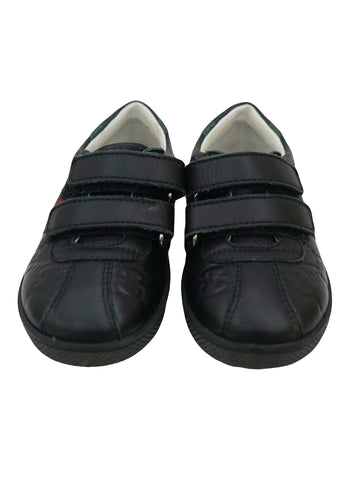 BOYS BLACK ACE SNEAKER SHOES