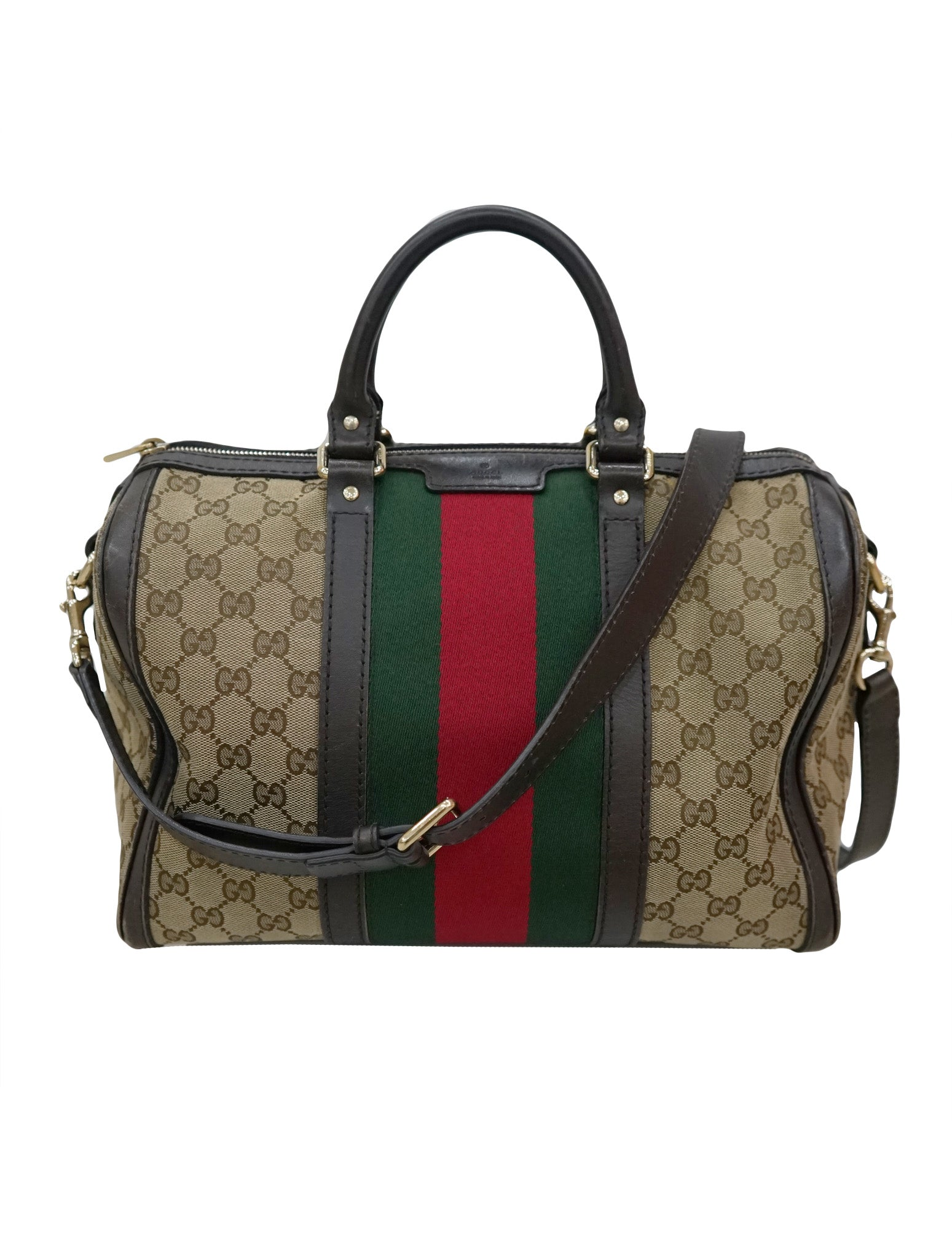 d12c9ac9b85 GUCCI GG CANVAS MEDIUM VINTAGE WEB BOSTON – Kidsstyleforless