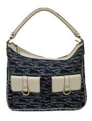 FABRIC MULTIPOCKET HOBO BAG