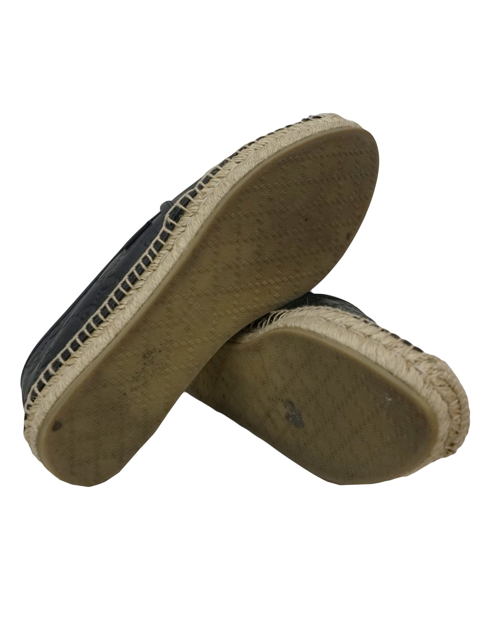 MICROGUCCISSIMA LEATHER ESPADRILLES