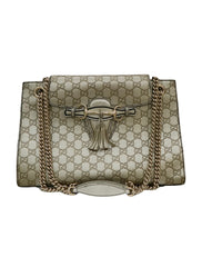 EMILY GUCCISSIMA CHAIN SHOULDER BAG