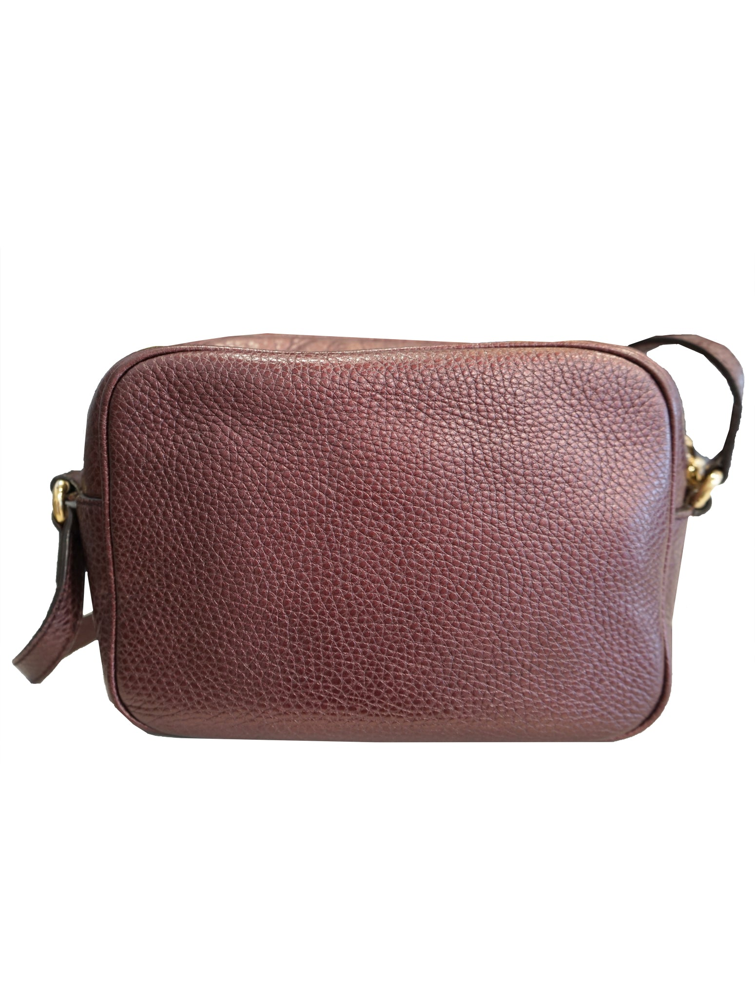 SOHO SMALL LEATHER DISCO BAG