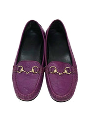 GUCCISSIMA LEATHER HORSEBIT DRIVING LOAFERS