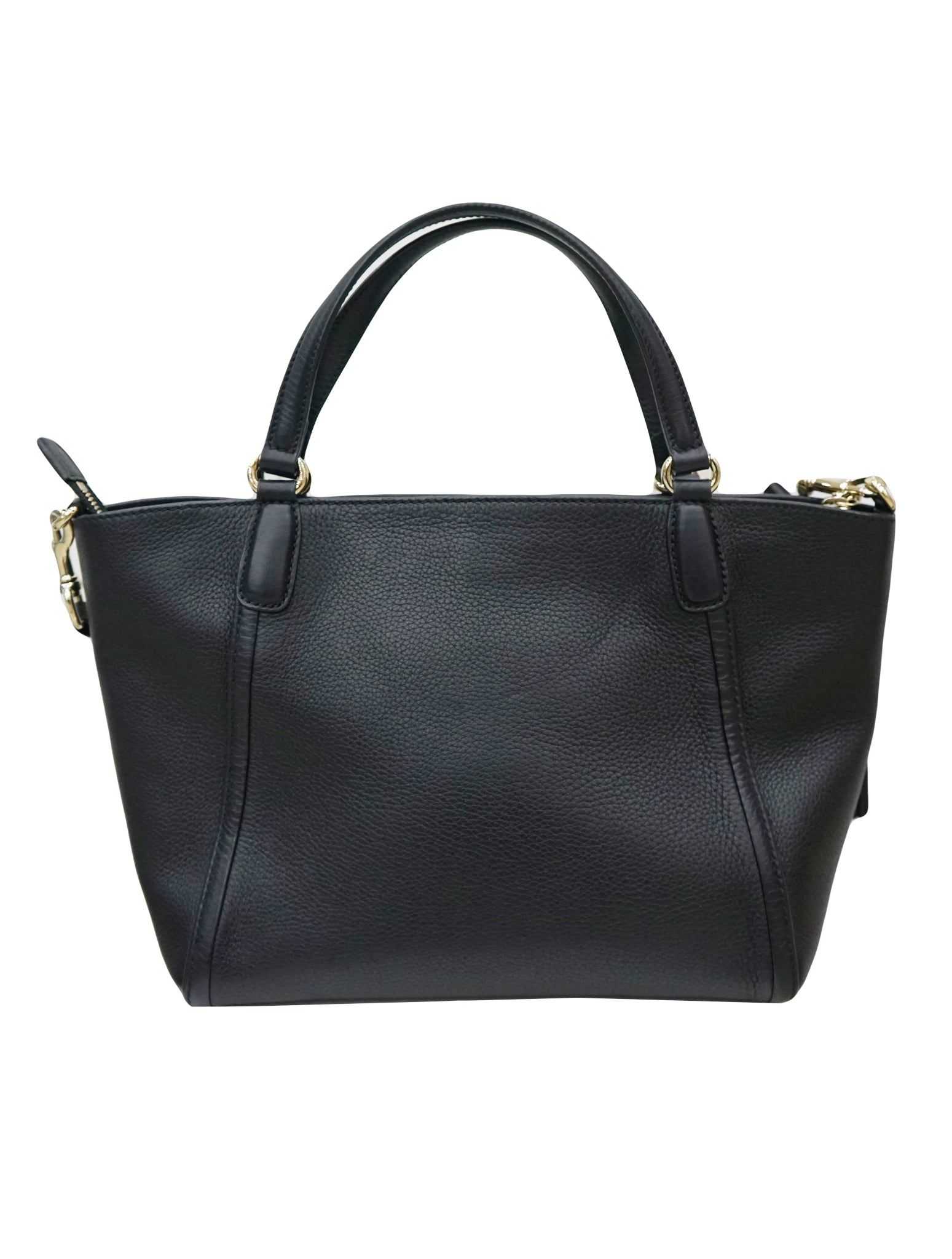 PEBBLED LEATHER SOHO TOTE BAG