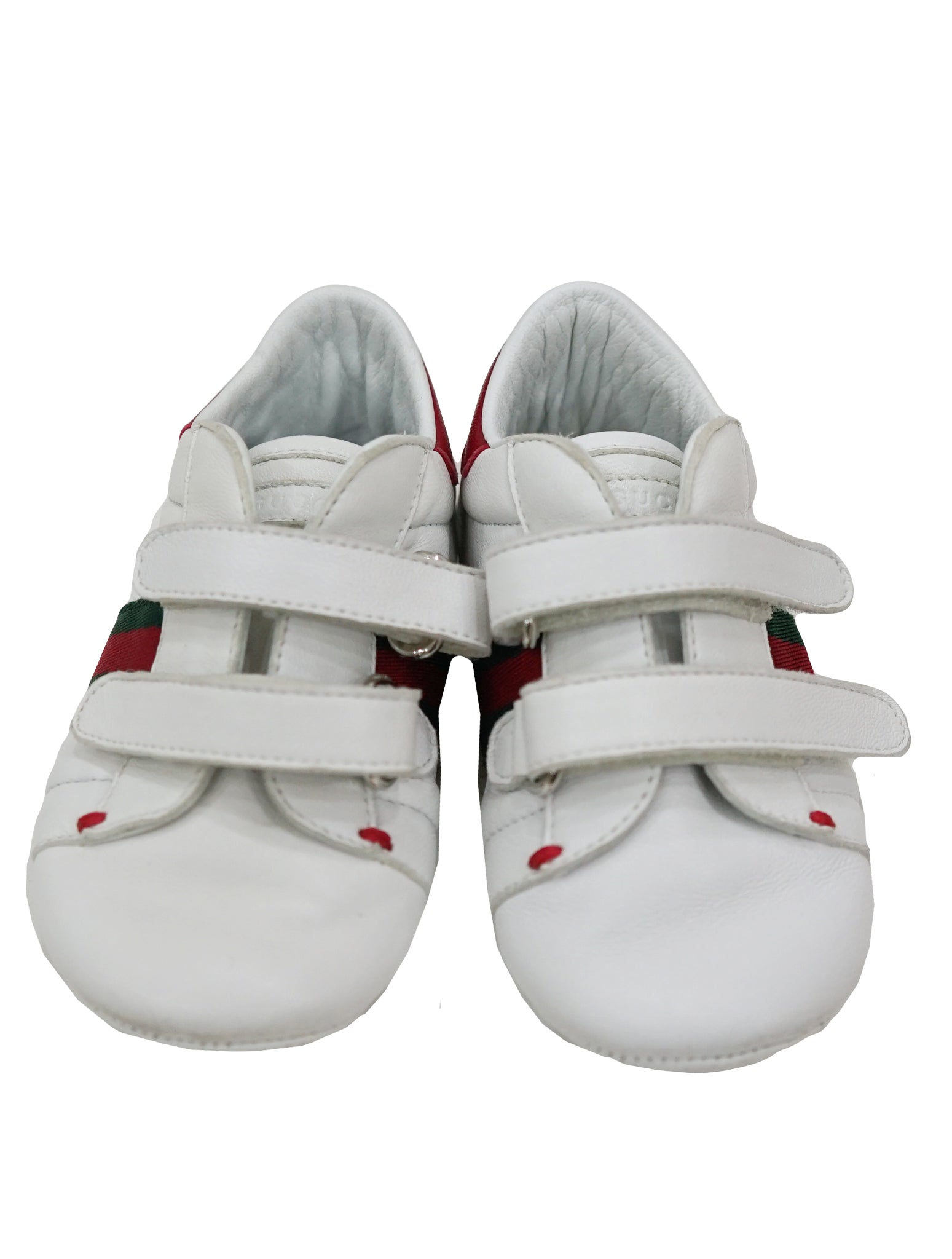 5a4f5b998 GUCCI BABY BOY ACE LEATHER SNEAKER – Kidsstyleforless