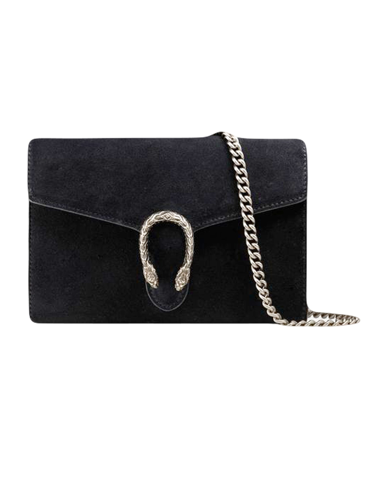 DIONYSUS SUEDE WALLET ON CHAIN