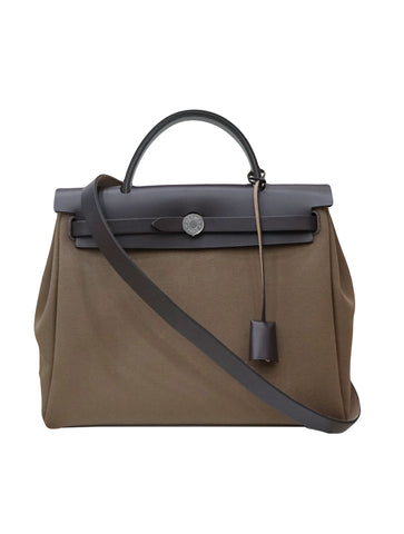 FABRIC & LEATHER HERBAG
