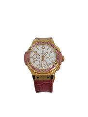 DIAMOND 18K ROSE GOLD BIG BANG WATCH