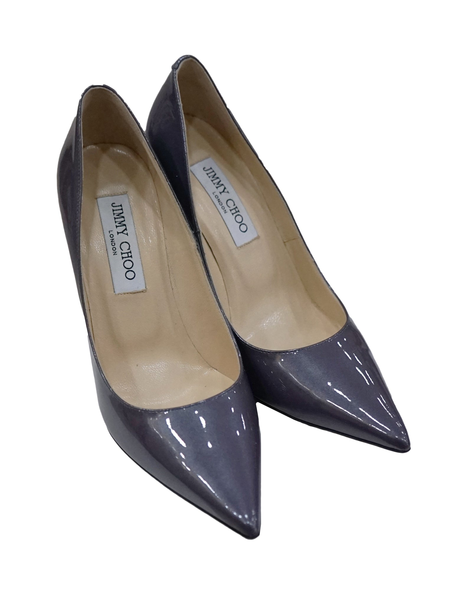 PATENT LEATHER ANOUK PUMPS