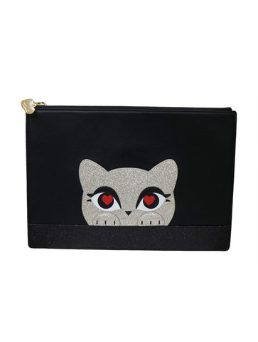 BLACK K LOVE POUCH