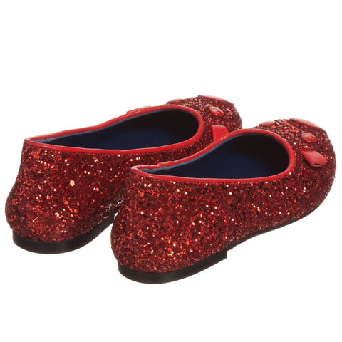 GIRL GLITTER SLIP-ON SHOES