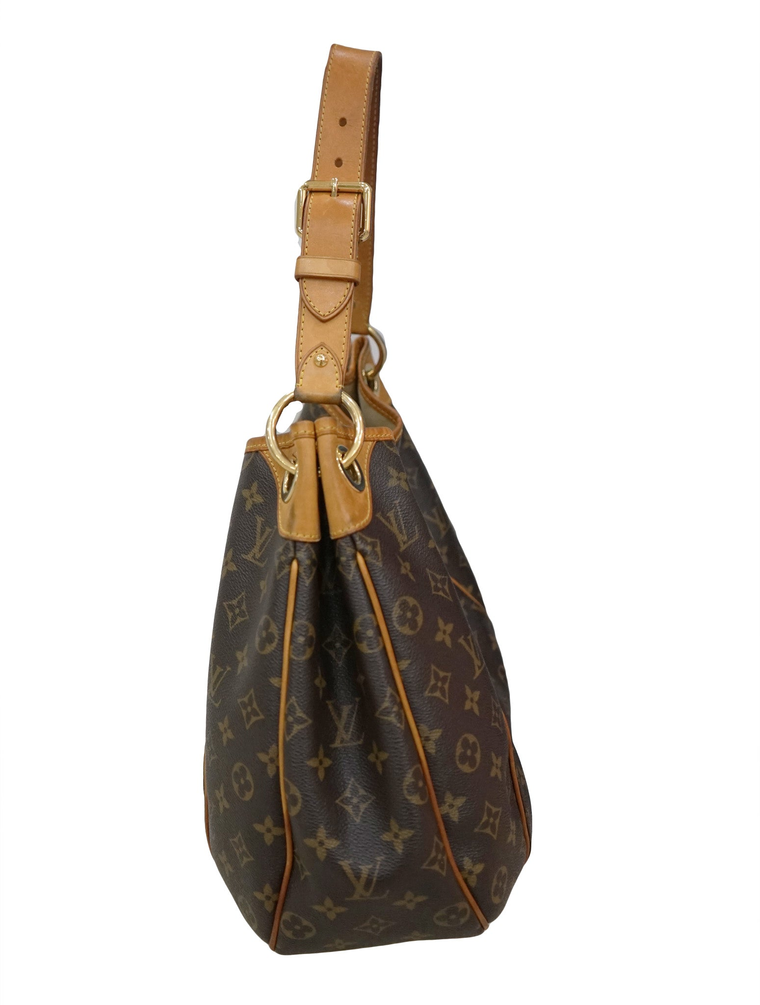 MONOGRAM CANVAS GALLIERA PM BAG