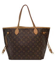 MONOGRAM CANVAS NEVERFULL MM
