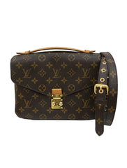 MONOGRAM CANVAS POCHETTE METIS BAG