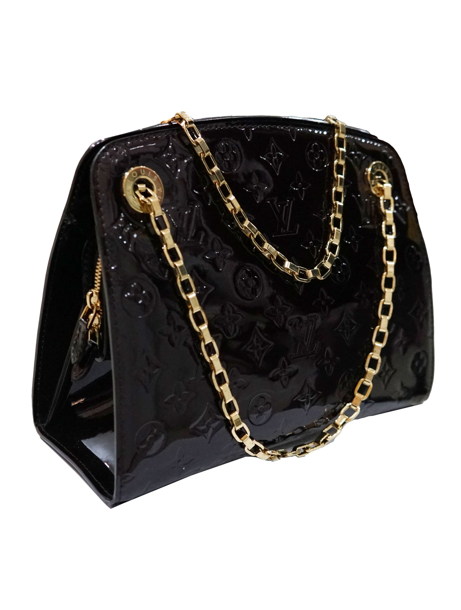 AMARANTE MONOGRAM VERNIS VIRGINIA BAG