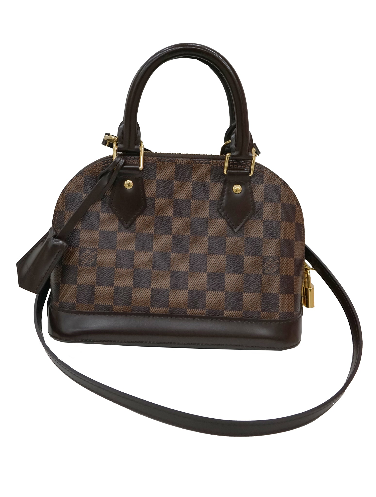 c125a10752cb LOUIS VUITTON ALMA BB DAMIER EBENE CANVAS – Kidsstyleforless