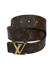 MONOGRAM CANVAS INITIALES BELT