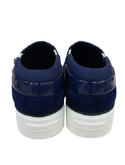 BLUE ESPADRILLES HARBOR SLIP ON - kidsstyleforless
