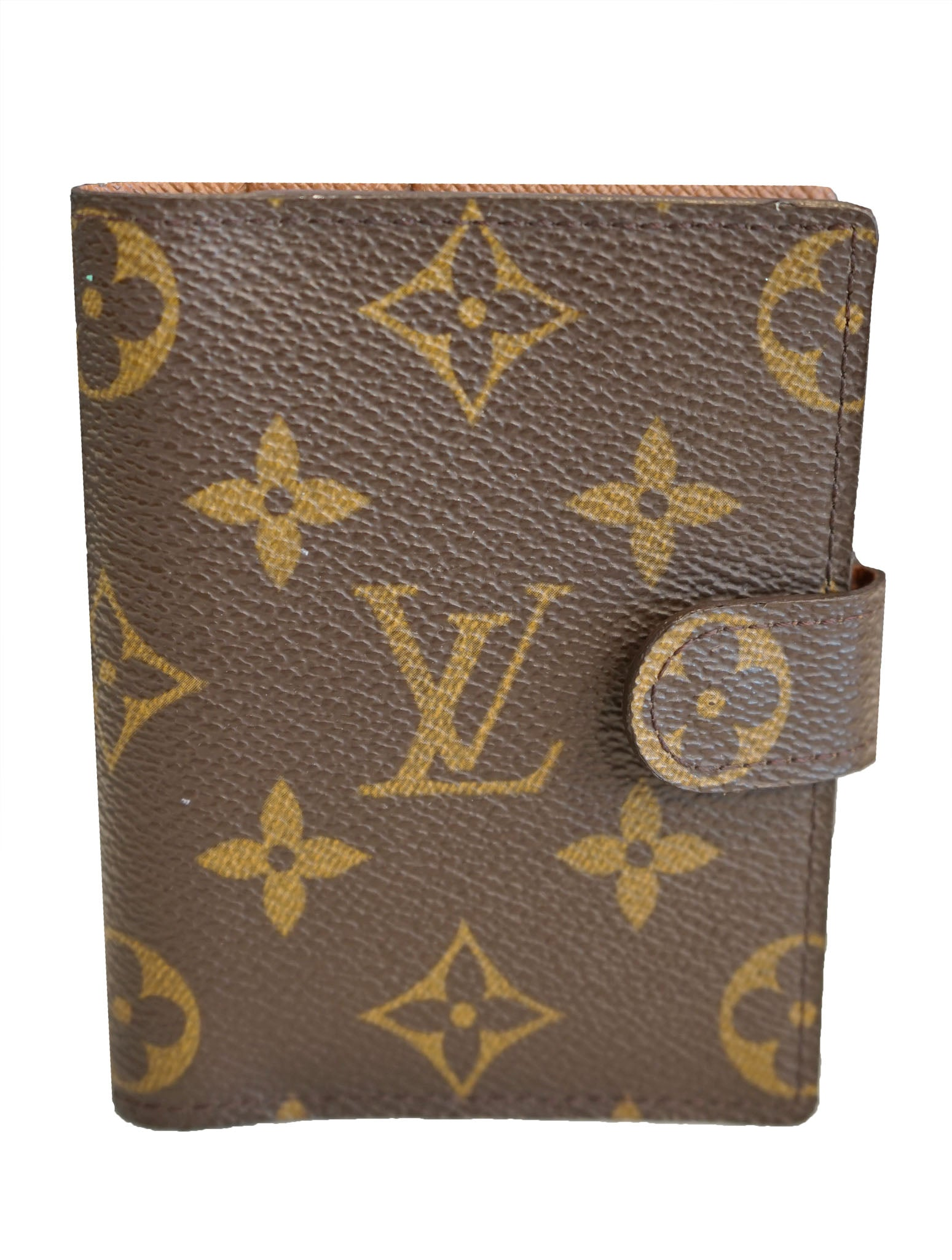 MONOGRAM CANVAS BUSINESS CARD HOLDER