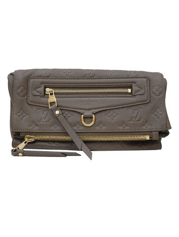 OMBRE EMPREINTE PETILLANTE CLUTCH BAG