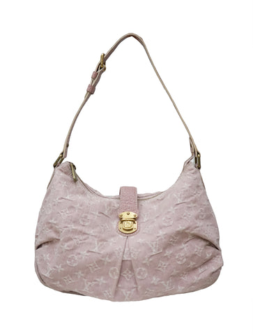 ROSE DENIM MONOGRAM SLIGHTLY HANDBAG