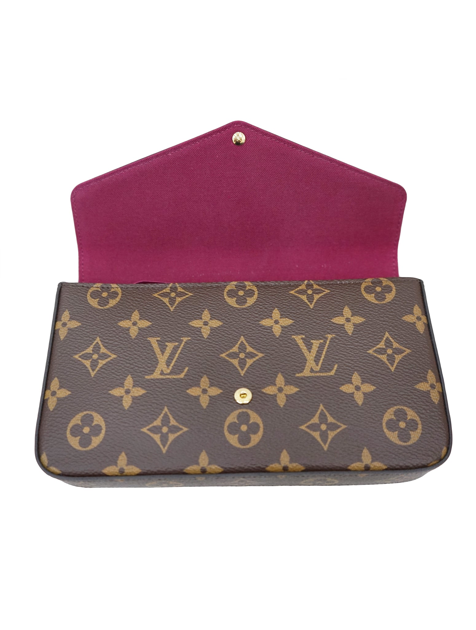 MONOGRAM CANVAS POCHETTE FELICIE BAG