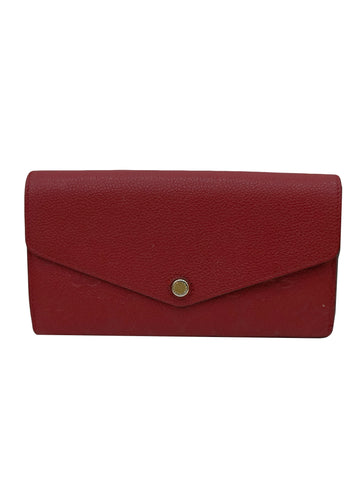 EMILIE MONOGRAM EMPREINTE LEATHER WALLET