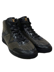 STUDDED HIGH TOPS SNEAKERS