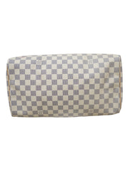 SPEEDY 35 DAMIER AZUR CANVAS BAG