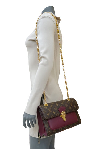 MONOGRAM CANVAS VICTOIRE SHOULDER BAG